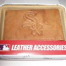 Chicago White Sox Pecan Leather Trifold Wallet