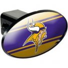 Minnesota Vikings Plastic Trailer Hitch Cover