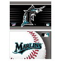 Florida Marlins 2 pk Fridge magnets