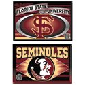 Florida State University 2 pk Fridge Magnets