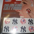 New York Yankees Peel and Stick Tattoos