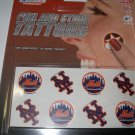 New York Mets Peel and Stick Tattoos