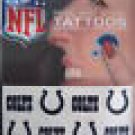 INdianapolis Colts Peel and Stick Tattoos