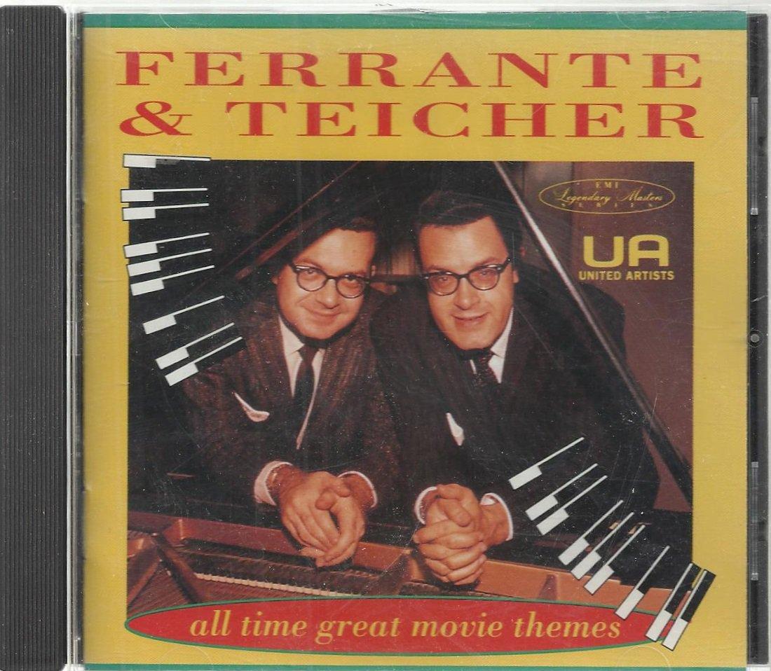 Ferrante & Teicher - All Time Great Movie Themes - Pop CD