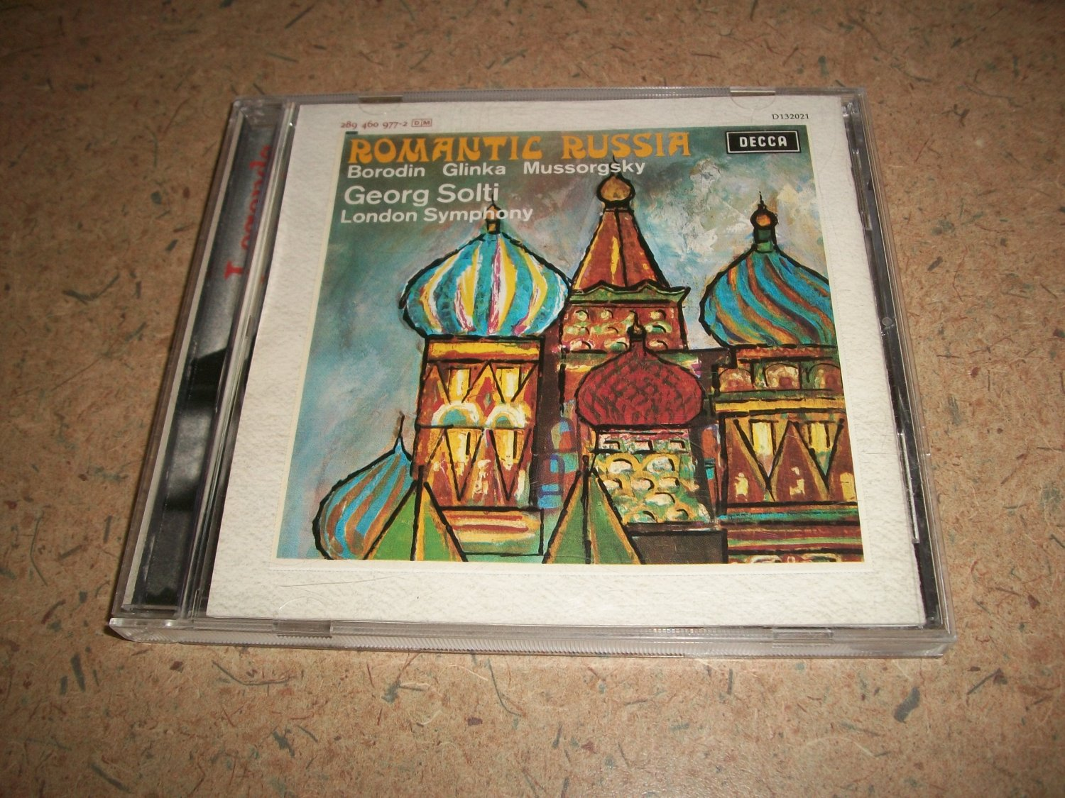 Georg Solti - Romantic Russia - Classical CD