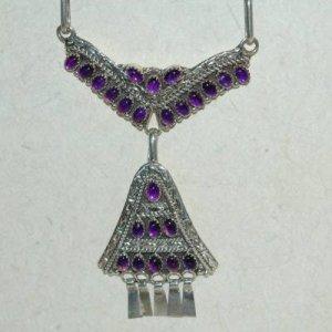 7.82 Carat Amethyst Necklace