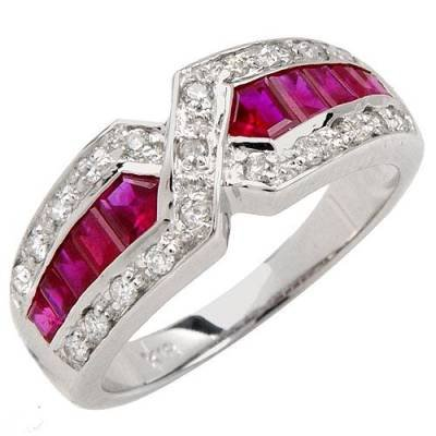2.26 Carat Ruby & Diamond Ring