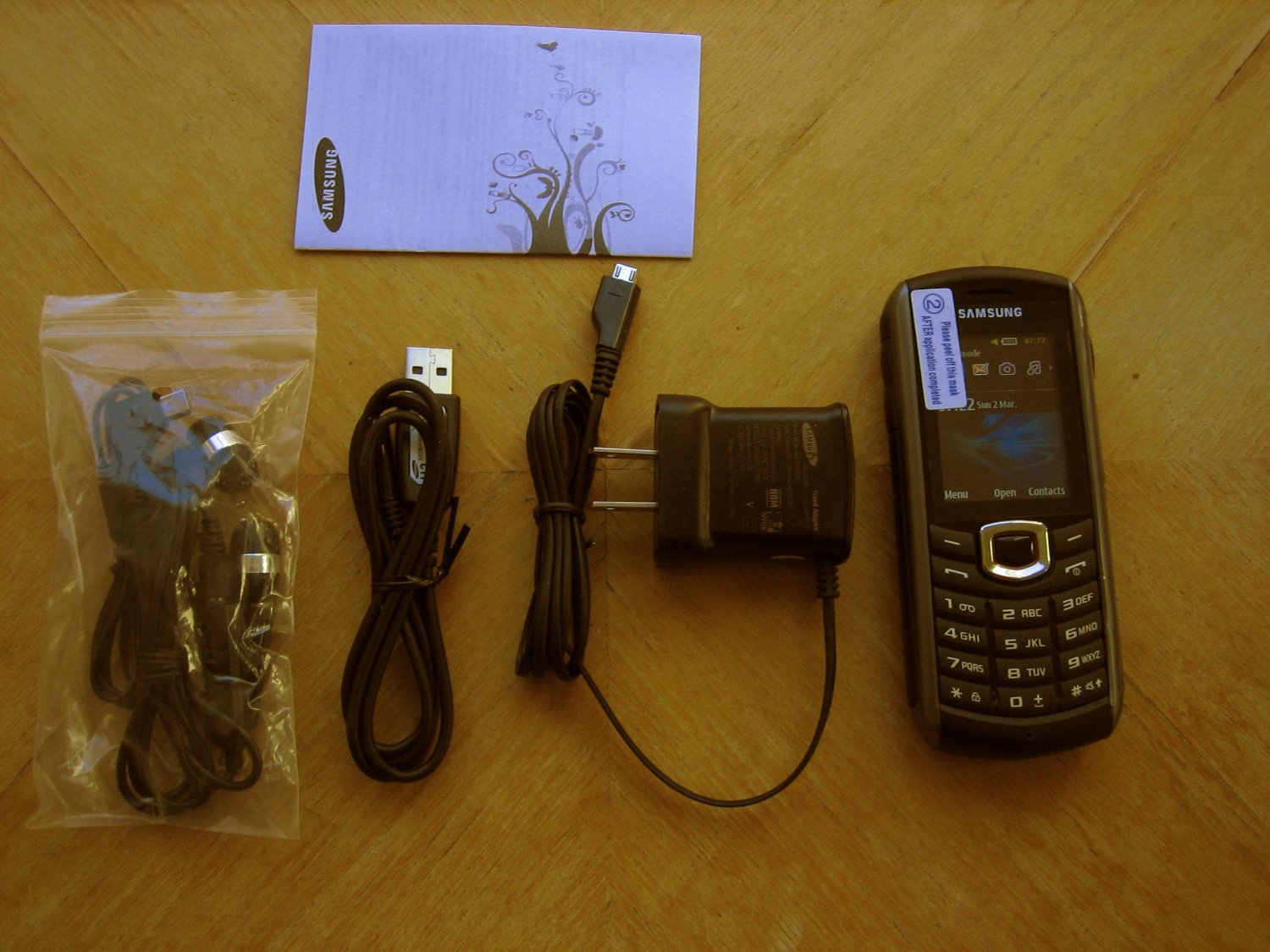 """Samsung B2710 Dust Tight Rugged  Water Proof 2.0"""" Cell Phone (New) w/16gb & More!!!!!!!!"""