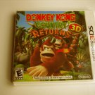 Donkey Kong Country Returns 3d  Original Print  (Brand New)