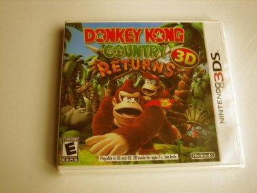 Donkey Kong Country Returns 3d  Original Print  (Brand New)