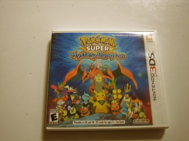 Pokemon Super Mystery Dungeon 3ds (Complete)
