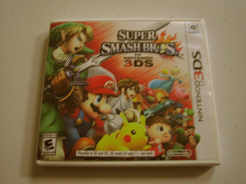 Super Smash Bros  3ds Original Print (Complete)