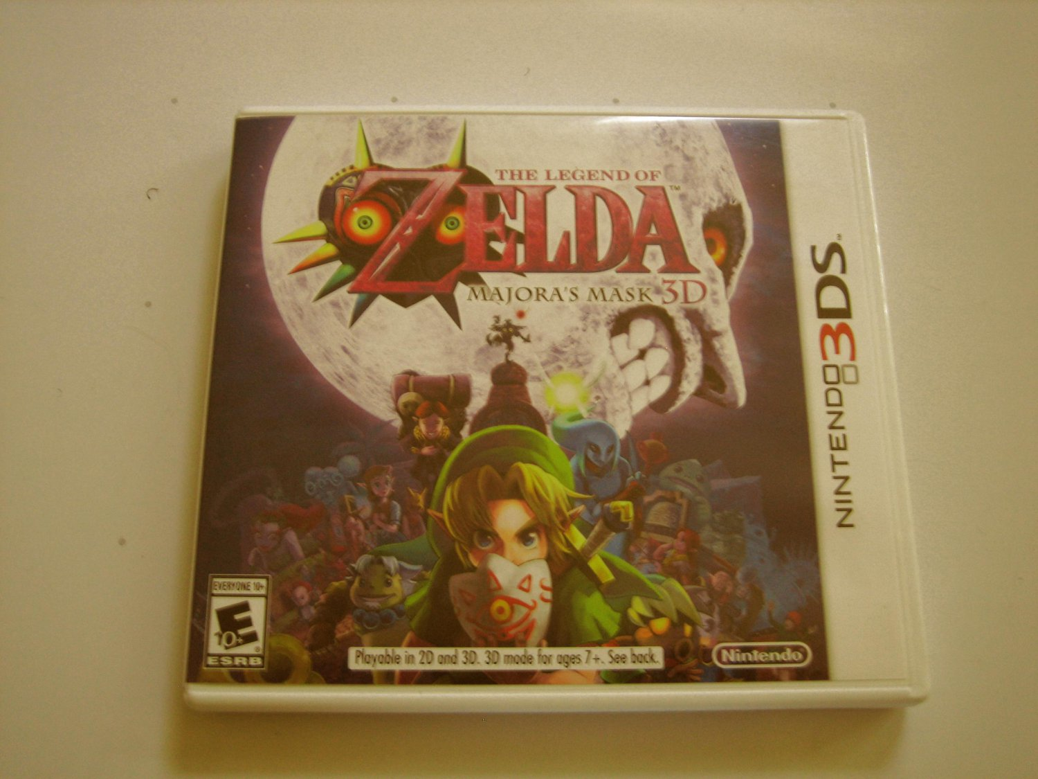 Zelda Majora's Mask 3d (New)