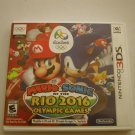Mario & Sonic At The Rio 2016 Olympic Games 3ds (Complete)