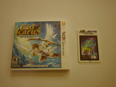 Kid Icarus Uprising 3ds w AR cards