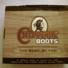 "NEW Chippewa Men's 6"" Rugged Handcrafted Lace-Up Boots Size 9D"