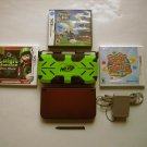 Red Nintendo New 3ds xl  w Luigi's Mansion   & More!!!