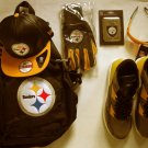 NEW Article Number N Men's Hightop Fashion Sneakers Steeler's Fan  Yellow & More !!!!1