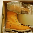 New Timberland 0237 Women's Teddy Fleece Tan Work Boots Shoes 9.5 Medium