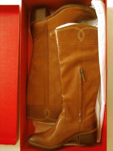 New Donald J. Pliner  Womens Willi Tan Cowboy, Western Boots 9 Medium (B,M)