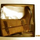 New Le Chameau 7461 Womens Jameson Brown Leather Riding Boots 10 Medium (B,M)