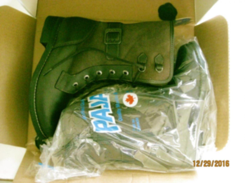 New Pajar 0150 Womens Caroll Brown Leather Mid-Calf Boots Shoes 6 Medium (B,M)