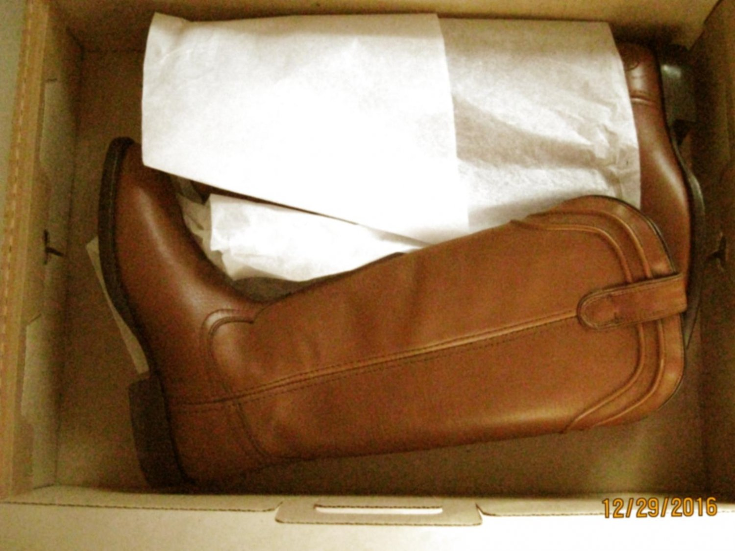 New Ariat Womens About Town Brown Riding Boots Shoes 7.5 Medium