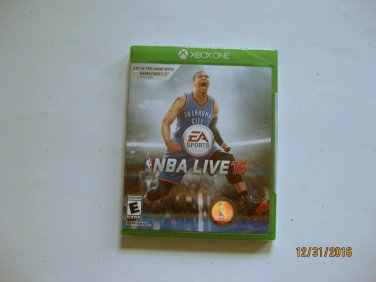 New NBA Live 16 - X-Box One