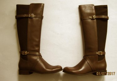 New Cole Haan Womens Dorian Brown Riding Boots Shoes 6.5 Medium & More!