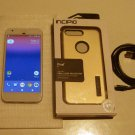 Very Nice Scintillating Very Silver 32gb Verizon Google Pixel & More!!!