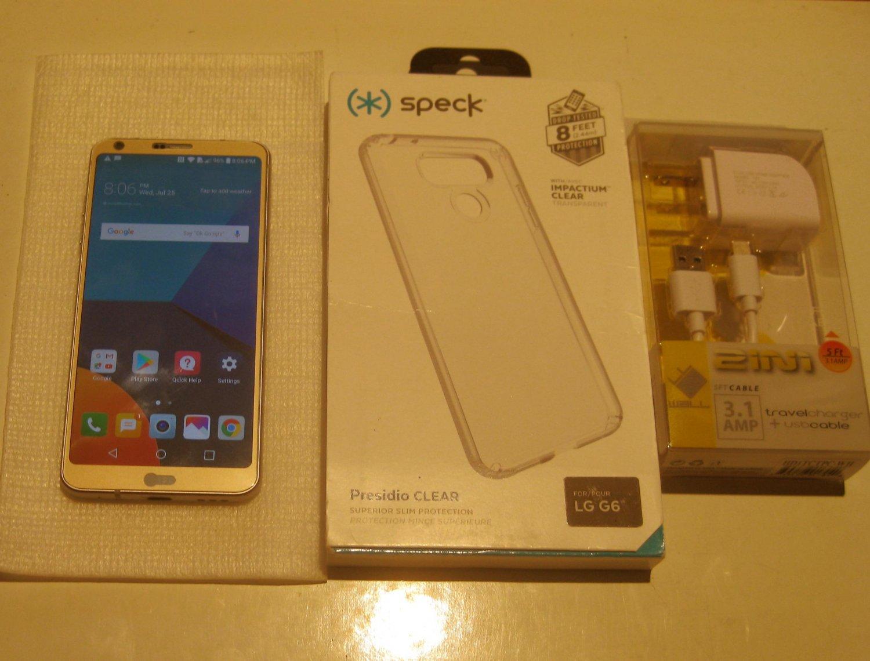 Near  Mint Iced Platinum  Unlocked 32gb LG G6 H873  & More!!