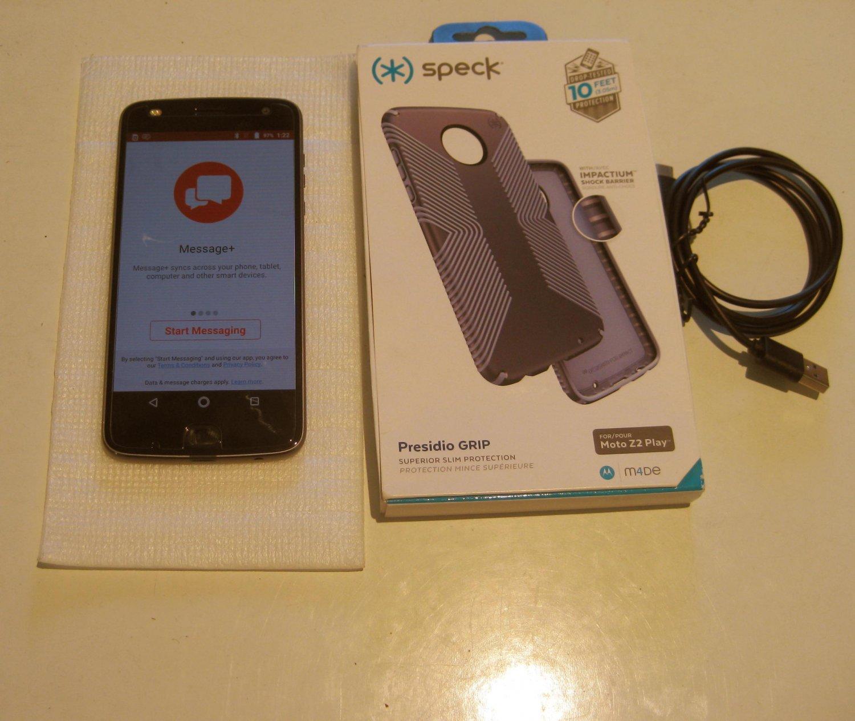 Loony Gray  32gb Verizon Moto Z2 Play