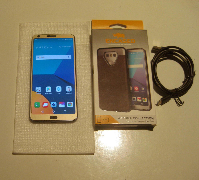 Very Good Unlocked Black 32gb Verizon  LG G6