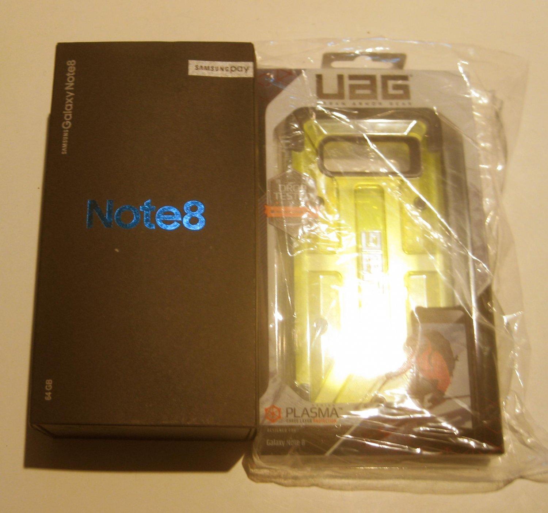 In The Black w a Near Mint Unlocked  Note 8 SM-N950U1