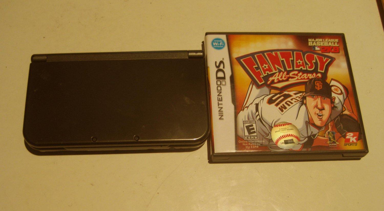 Nintendo New 3DS XL Black w Fantasy Baseball Bundle