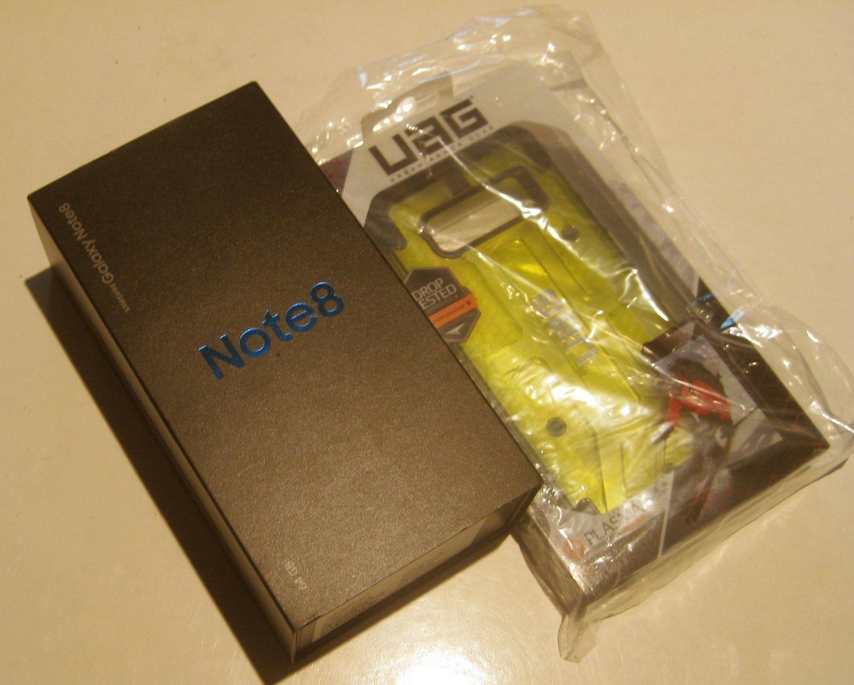 Excellent  64gb Unlocked AT&T Samsung  Note 8 SM-N950U Bundle!!!