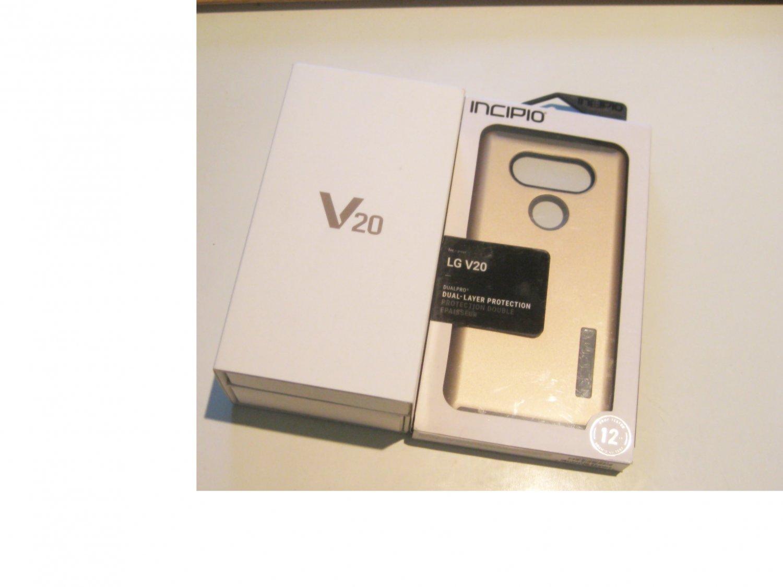 Brand New Silver   64gb Dual Sim   LG V20 (H990N) Bundle!!