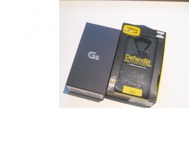 Brand New Unlocked   Black  32gb AT&T LG G6 Bundle!!