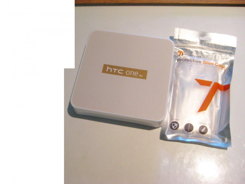 Brand New 32gb Unlocked Gold   HTC ONE  M9 Bundle!!