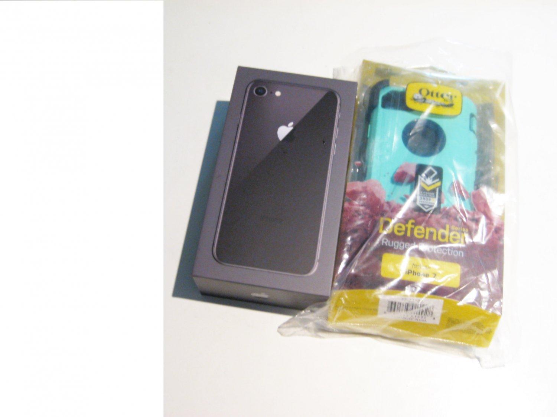 Great 64gb Unlocked Iphone 8  (A1863) Bundle!!