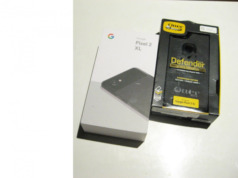 Excellent  Unlocked Google Edition Pixel 2 XL 64GB Bundle!!