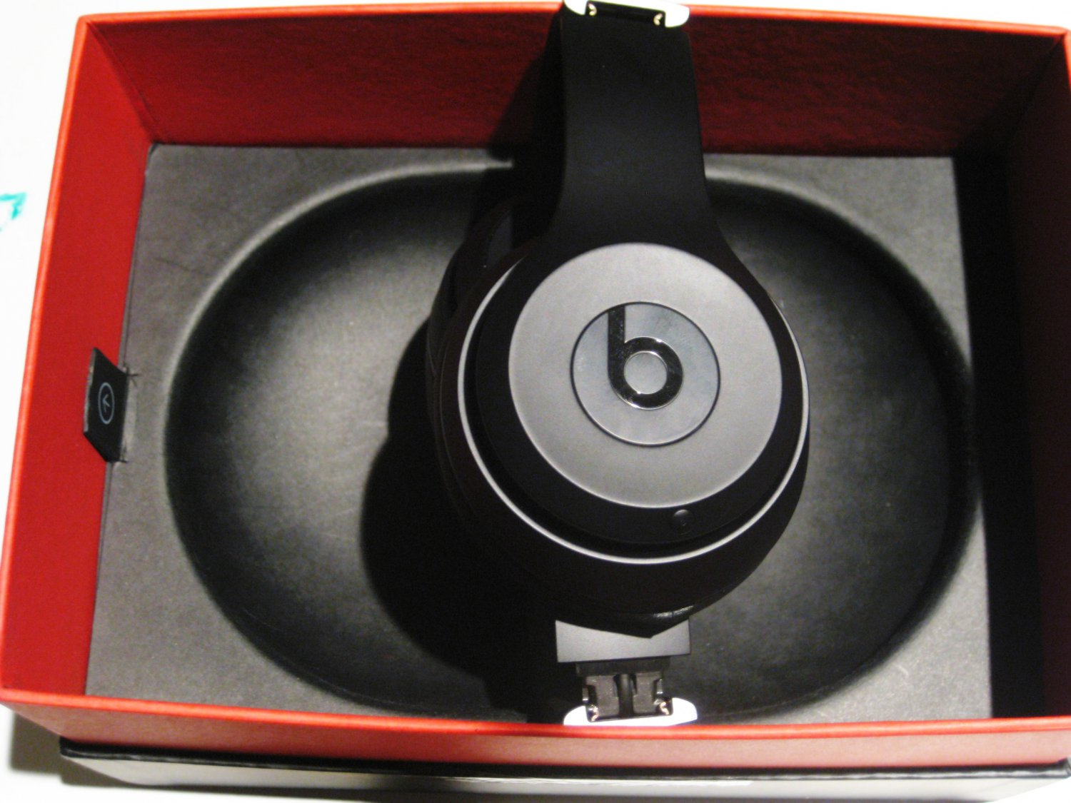 Like New Beats by Dre Studio 3 Bluetooth Over-Ear Headphones, Black