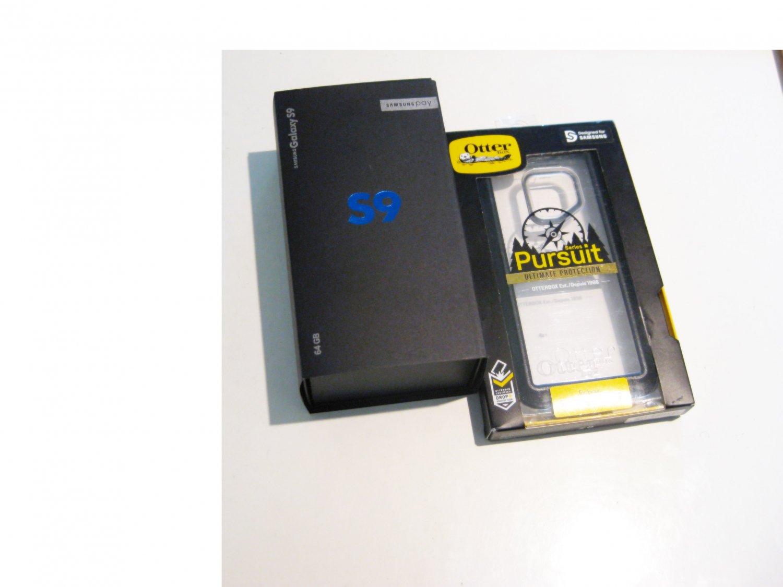 9.1/10 Unlocked 256gb Samsung Galaxy S9 G960F  Bundle!!