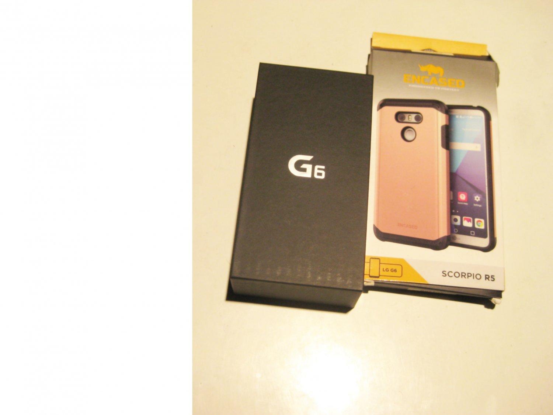 9/10  Black Unlocked 32gb Verizon  LG G6 Bundle!!