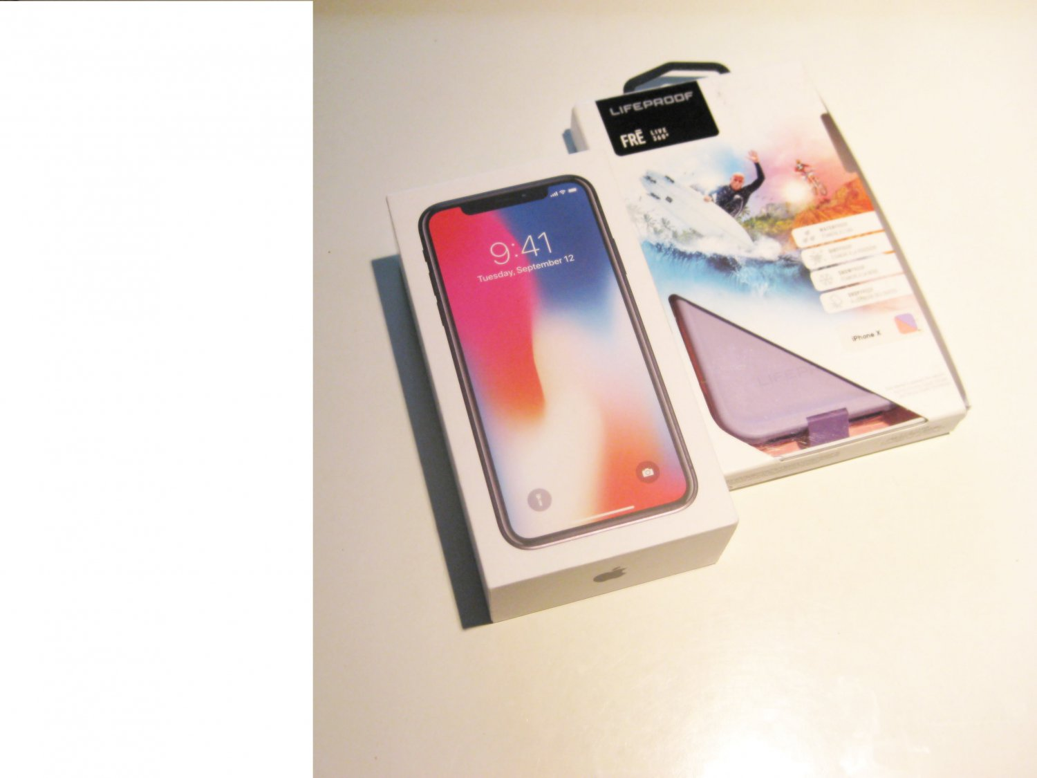 New  64gb  Spacey Gray Sprint  Iphone X A1865 Bundle!