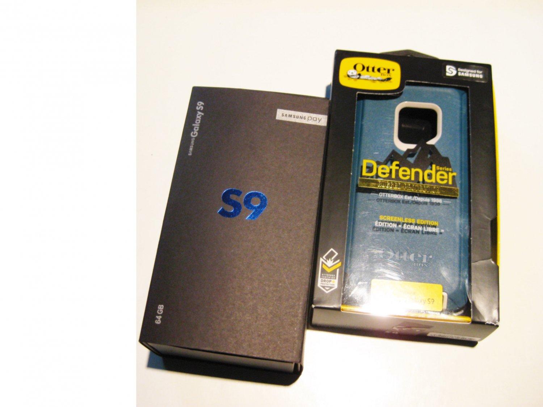 9.3/10 Unlocked 64gb  Galaxy S9 SM-G960U1 Warranty 8/20
