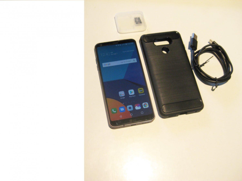 Good  Unlocked Black  32GB   Sprint  LG G6 Bundle!!