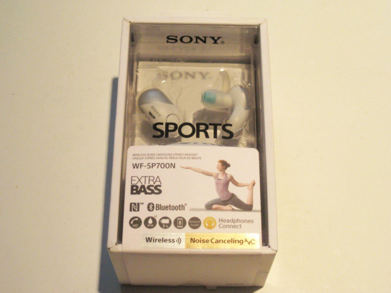 New SONY WF-SP700N EXTRA BASS BLUETOOTH HEADPHONES!!
