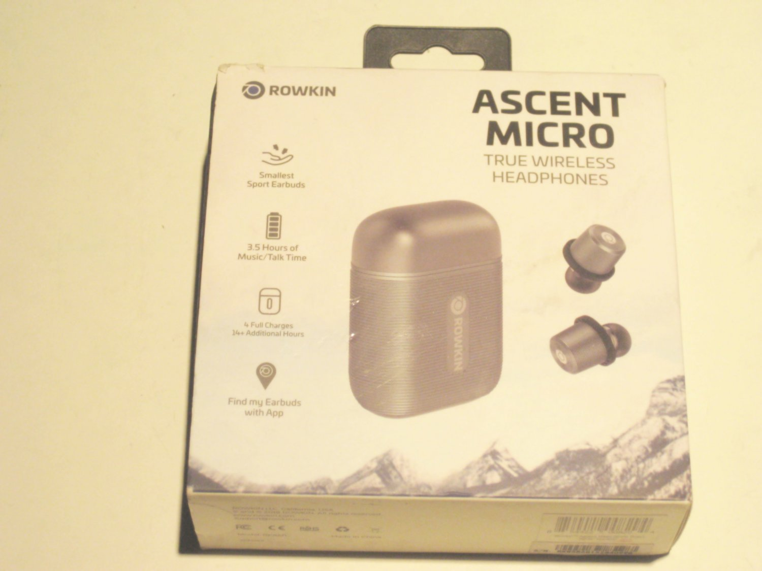 Like New Rowkin Ascent Micro True  Wireless Headphones