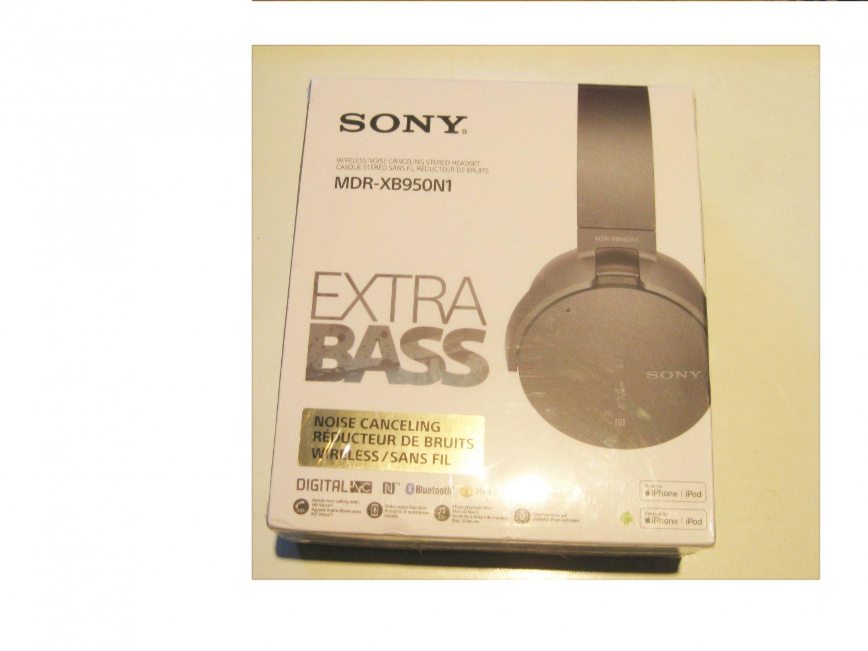 NNEW! Sony XB950N1 Extra Bass Wireless Noise Canceling Headphones